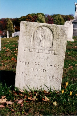 Brandon headstone