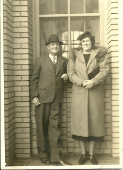 Elery Lee Ervin Sr and his wife Tessie McKee Ervin
