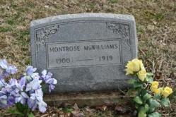 Montrose McWilliams