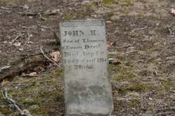 John H. Darst, Son of Thomas and Eunas Darst d-1849
