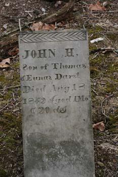 John H Darst d-Aug 18, 1849