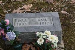 Ora P. Bail 1884-1910