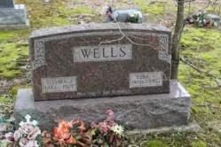 Sylvira J. Wells 1861-1927, Ezra V. Wells 1850-1931
