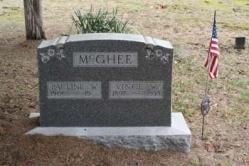 Pauline W. McGhee, Vince W. McGhee 1897-1938