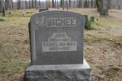 John McGhee 1854-1917, Rachel McGhee 1853-1931