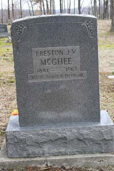 Preston J.V. McGhee 1881-1963