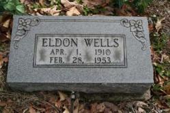 Eldon Wells 1910-1953