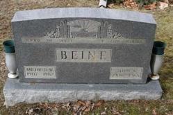 Mildred W. Beine 1907-1982, John A. Beine 1906-1965