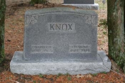 Charity A. Knox 1880-1965, Clement Knox 1873-1949
