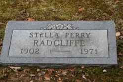 Stella Perry Radcliffe 1902-1971