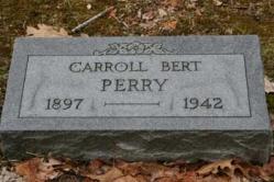 Carroll Bert Perry 1897-1942