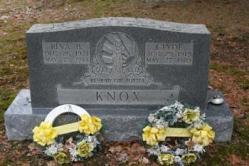 Reva B. Knox 1921-1993, Clyde Knox 1915-1970