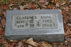 Clarence Knox 1903-1904