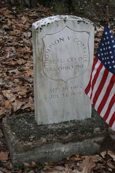 Thompson V. Cottrill SERG CO D, 194 OHIO INF 1835-1878