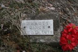 Emmett Dixon d-1912