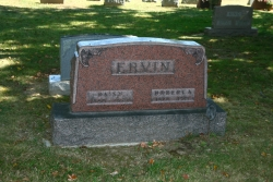 Headstone R.A. Ervin