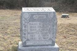 Isaac and Martha Dixon