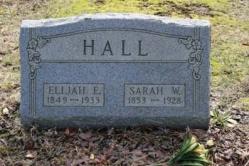 Elijah and Sarah Hall