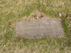 Jimmie Young (Keen) Ervin, wife of Richard Dwaine Ervin