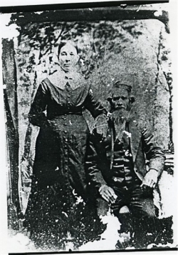 Owen Ervin with 2nd wife Louisa