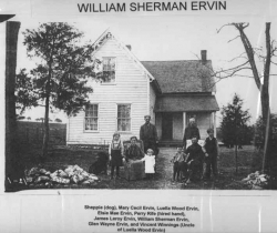William Sherman Ervin and family