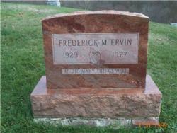 Frederick M. ERVIN