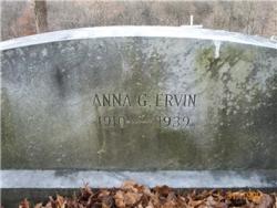 Anna G. ERVIN