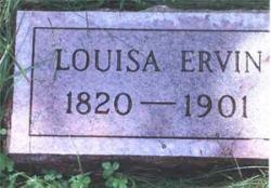 Louisa ERVIN