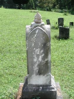 Lydia ERVIN-KISOR, Owen ERVIN's daughter
