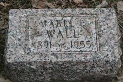 Mabel l. Wall 1891-1955