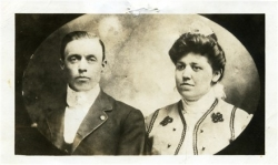 Maurice Alfred ERVIN with wife Sara SPURBECK